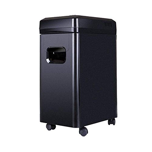 Amazing Deal LQSZJ Business Office Shredder 12-Sheet Cross-Cut Paper, 15l Paper Tube Capacity Univer...