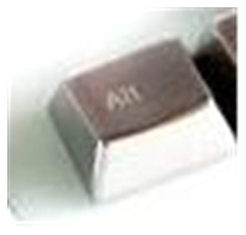 Teclado 1 Pieza Aleación de Zinc Metal Keycap Mecánico Teclado Teclas Grandes...