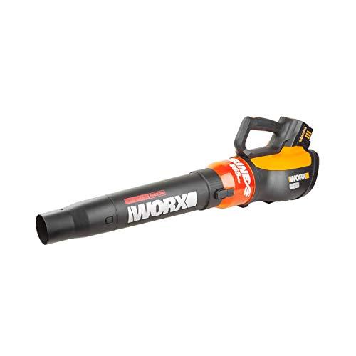 WORX WG591 Turbine 56V Cordless Battery-Powered Leaf Blower with Brushless Motor & Turbo Boost (Renewed)
