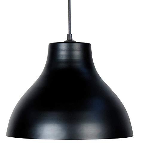 TOSEL 14349 Suspension 29,5 cm métal noir