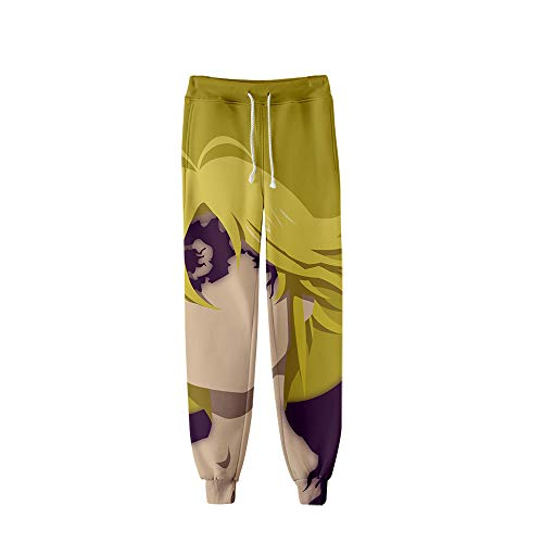 HXPainting Unisexo Pantalones De Chándal Casual 3D Digital ...