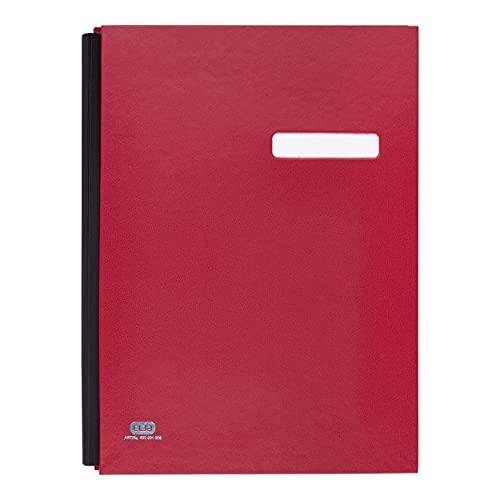 Elba Signature Book, 20 Compartments, PVC Red PVC Rojo - Archivador (20 Compartments, PVC Red, Rojo, 245 mm, 340 mm)