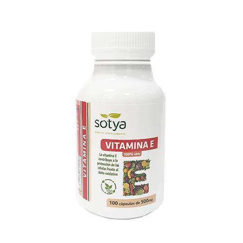 SOTYA - SOTYA Vitamina E 100 cápsulas 500 mg