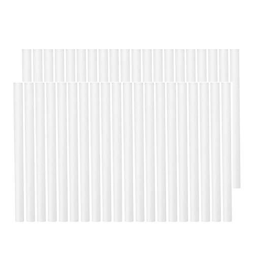 SODIAL 40 piezas de filtro de algodón, recarga, mechas de repuesto para Pers portátiles USB, humidificador, aromatizador