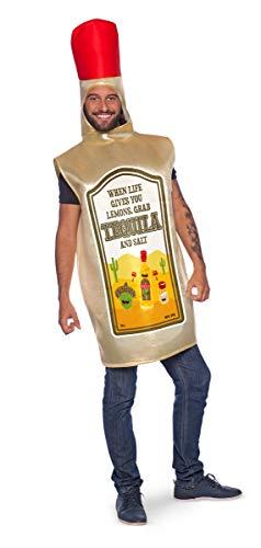 Folat 21989 Tequila-kostuum voor volwassenen, heren, meerkleurig