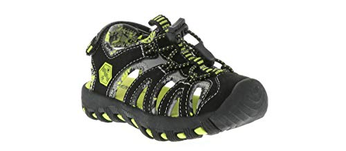 Khombu Toddler Cheeky Boys' Outdoor Shoes Black in Size 10