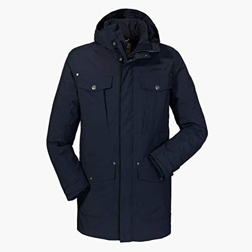 Schöffel Herren 3in1 Jacket Storm Range M1 wind- und wasserdichte Winterjacke mit herausnehmbarer Inzip Jacke, bequeme Regenjacke für Männer, navy blazer, 52