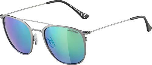 ALPINA ZUKU Sportbrille, Unisex– Erwachsene, gun matt, one size