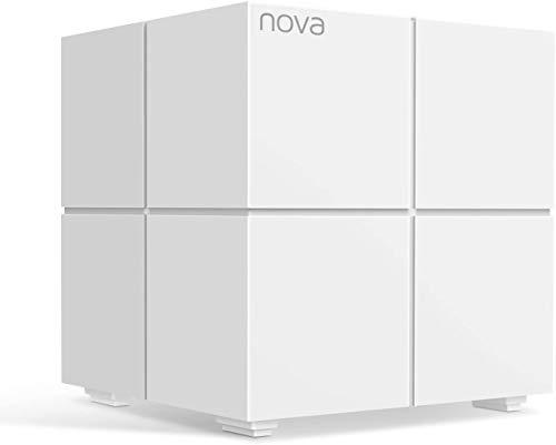 Tenda Nova MW6-1 Mesh Wi-Fi System: Add-on Unit for Network Expansion of the Nova MW6 Mesh Wi-Fi System. Single Add-on unit simply connects to an existing Nova MW6 network via the App (Pack of 1)