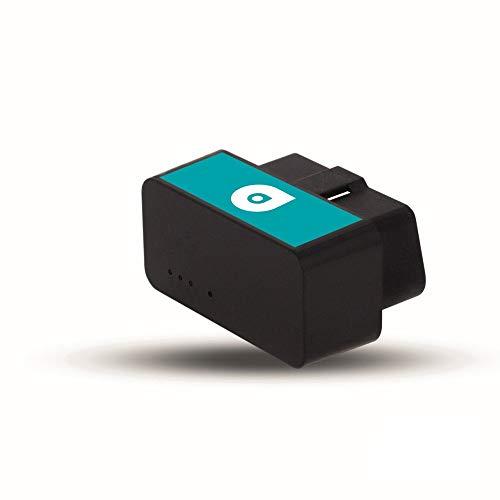 Base Adapter -GPS-Tracker für Ihr Auto, Echtzeit Auto Tracking, Kompakter OBD2 KFZ- und LKW Tracker mit Handy App, inkl. 12 Monate Software-Service, ohne SIM Karte