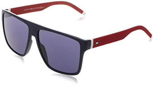 Tommy Hilfiger TH 1717/S Gafas de Sol, BL REDWHT, 59 para Hombre