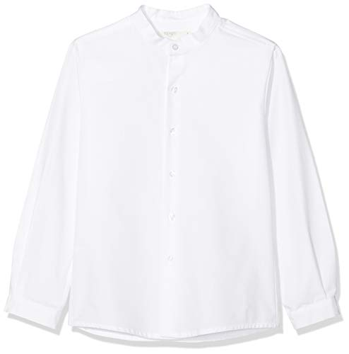 Rigans Camisa Paris Oxford, Blanco (Blanco 477), 2 años (Tamaño del Fabricante: 2) para Niños