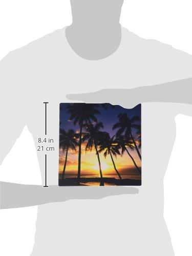 3dRose LLC 8 x 8 x 0.25 Inches Mouse Pad, Sunset Lahaina Maui Hawaii Douglas Peebles (mp_89596_1) Photo #2