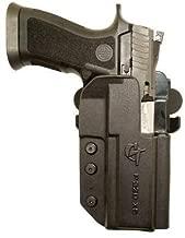 Comp-Tac International Holster - Sig P320 Series (X-Five, Full Size) Right - Black (Belt, Paddle, Drop Offset) IDPA USPSA 3 Gun