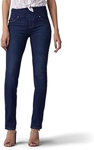 Lee Women s Sculpting Fit Slim Leg Pull On Jean Infinity 6 product image