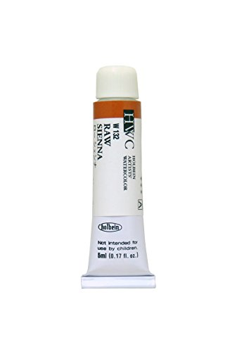 Holbein Artists' Watercolors - Raw Sienna - 5ml Tube
