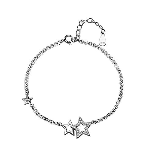1 pulsera de estrella de cinco puntas pequeña con dije delicado hecho a mano para el día de la madre