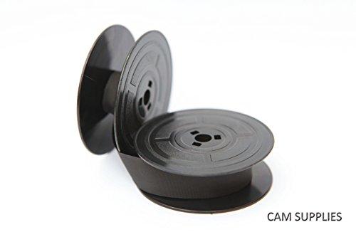 Olivetti Valentine Monica Studio 44TOP Qualität 10Meter Schreibmaschine, doppelspulle schwarz