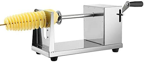 Manual Stainless Steel Twisted Potato Apple Slicer Spiral French Fry Cutter product image