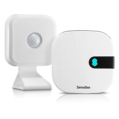 Sensibo Air, Smart Air Conditioner Remote Controller + Motion Sensor   WiFi Enabled, Works with Amazon Alexa & Google Home   Control Room Temperature And Humidity Levels from Anywhere