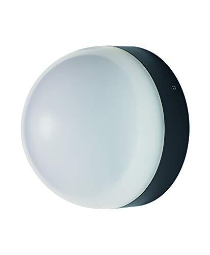 LEDVANCE LED Wand- und Deckenleuchte, Leuchte für Außenanwendungen, Warmweiß, Integrierter Tageslicht- und Bewegungssensor, Endura Style Ball Sensor