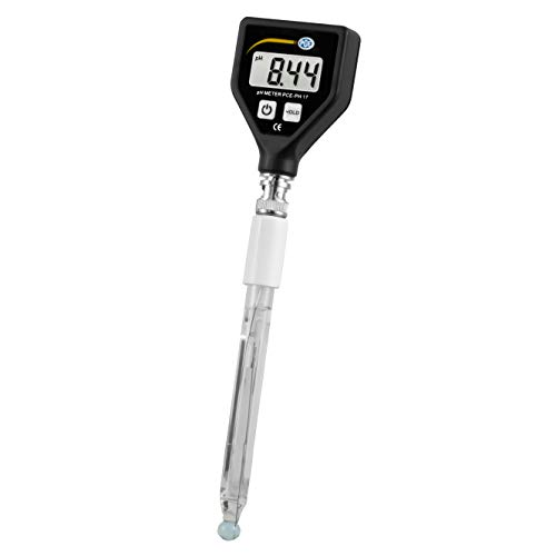 Umweltmessgerät PCE-PH 17 pH-Tester/für die einfache Labormessung/vollständige Glaselektrode/einfache Bedienung