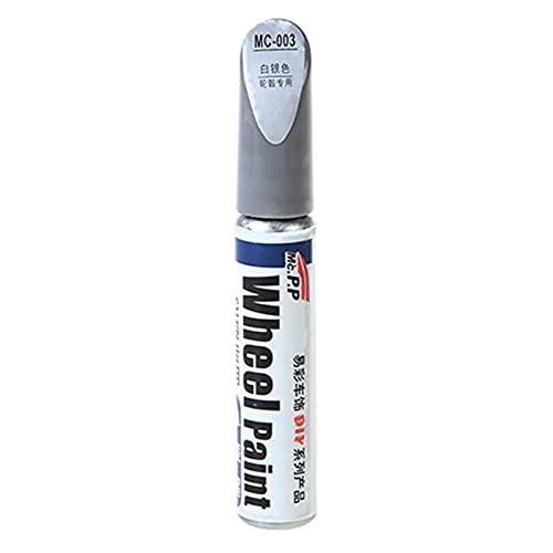 Gusengo Rotulador De Pintura para Neumáticos De Bicicletas Y Coches, Tyre Marker Paint Pen para Neumáticos, Lápiz Reparador De Pintura De Coche