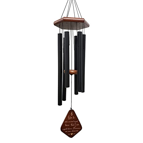 UXIU Sympathy Wind Chimes,32 Inches Memorial Wind Chimes for Loss of Loved One Prime, Wind Chimes for Outside Deep Tone Outdoor Decor for Patio,Porch,Garden,and Backyard Sympathy Gifts for Grandama