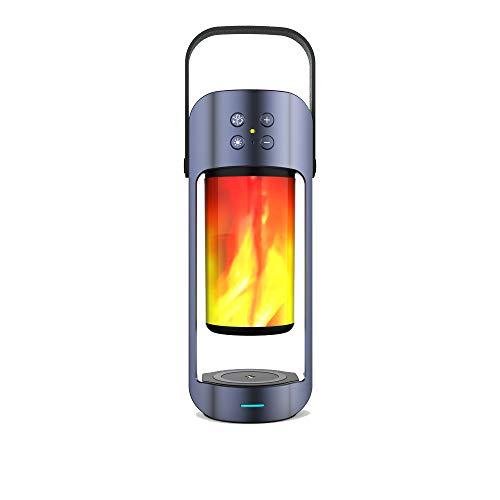 Altavoz Bluetooth Inalámbrico De Carga De Luz De Llama Luz De Emergencia Exterior Versátil Con Función De Tesoro De Carga