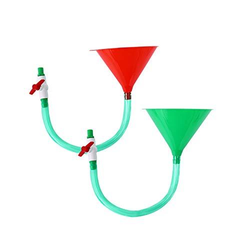 Herefun Funnel Spiel, Biertrichter für Partys, Trinkspiele, Geschenke, Festival