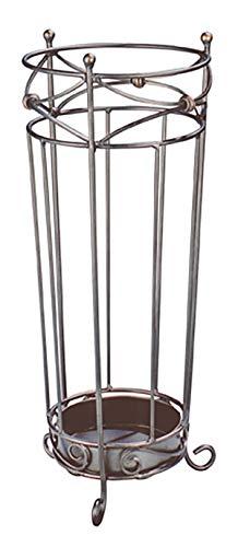 Haku Möbel Schirmständer - pulverbeschichtetes Stahlrohr anthrazit Höhe 55 cm