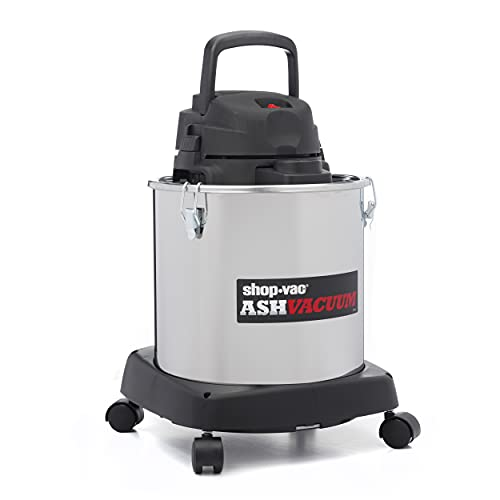 Shop-Vac 4041400 Ash Dry Vac with Dolly, Stainless...