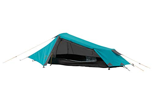 Grand Canyon Richmond 1 - Tunnelzelt für 1 Person | Ultra-leicht, wasserdicht, kleines Packmaß | Zelt für Trekking,Camping,Outdoor | Blue Grass (Blau)