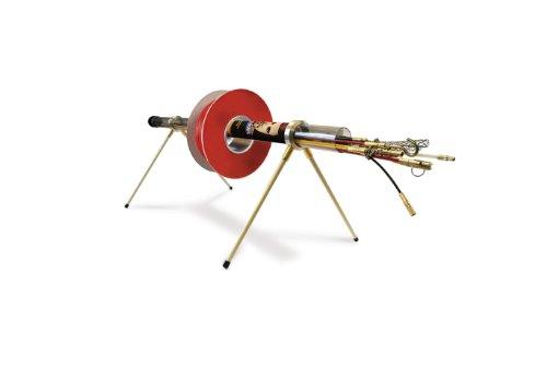 Super Rod CRMX PLUS geleidingsstangen- en spoeldragerset, kabel 16 m, starterset met 13 verbindingen (uit het Verenigd Koninkrijk)
