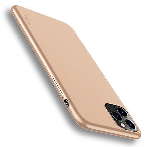 X-level für iPhone 11 Pro Hülle, [Guardian Serie] Soft Flex Silikon Premium TPU Echtes Handygefühl Handyhülle Schutzhülle Kompatibel mit iPhone 11 Pro 5,8 Zoll Hülle Cover - Gold
