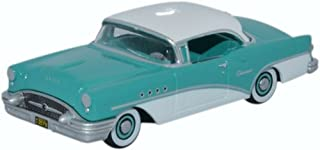 Buick Century, Turqois/white, 1955, Model Car, Ready-made, Oxford 1:87