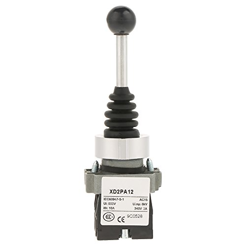 Interruptor de palanca de mando bloqueado, 2 Posiciones Tipo de reemplazo bloqueado Monopalanca Interruptor de palanca de mando bloqueado Se adapta para XD2PA12
