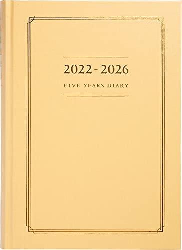 高橋 手帳 2022年 A5 5年横線当用新日記 No.16 (2022年 1月始まり)