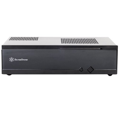 『SilverStone Milo Series Mini-ITX HTPCケース ブラック SST-ML05B』の1枚目の画像
