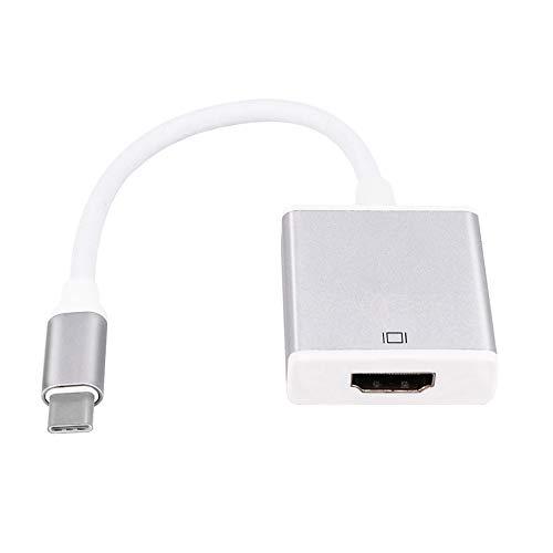 LanLink Type C naar HDMI Video Converter, Galaxy/Smartphone/Tablets/PC naar Projector/TV Video Kabel Computer Externe Accessoires Video Adapter USB3.1/USB-C Goud/Zilver Goud