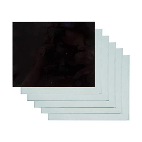 Original Einhell Schutzglas Schweiss-Zubehör (DIN 9 + 5 x klar passend für Einhell Schutzschild und Schweisshelm)