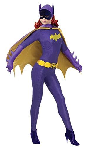 Rubies Disfraz Oficial de Batgirl Grand Heritage Batman, para Adulto, Talla pequeña
