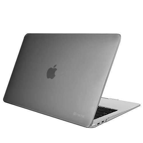 """Fintie Hülle für MacBook Air 13 (2020 2019 2018 Freisetzung) A2179 / A1932 - Ultradünne Glatt Hartschale Schutzhülle Snap Case für Apple MacBook Air 13\"""" Retina Display und Touch ID, Grau"""