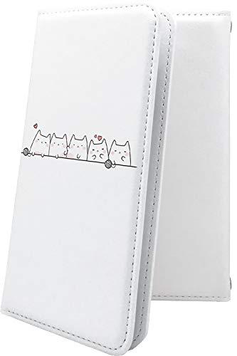 スマートフォンケース・ZenFone5Q ZC600KL・互換 ケース 手帳型 猫 ネコ ゼンフォン5q ゼンフォン5 手帳型スマートフォンケース・猫柄 zenfone 5q 5 q かわいい 可愛い kawaii lively [e8C24664ZYA]