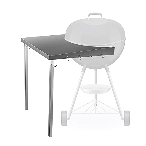 GJCrafts Foldable Grill Work Table Fits We-be-r 18