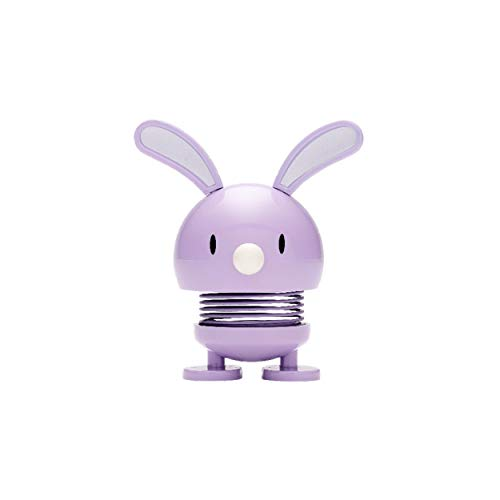 Hoptimist Bunny saltarina, pequeño, Motivo Figura, Motivo Figura, Idea Decorativa, plástico, Violet, 5cm de diámetro, 9011-48