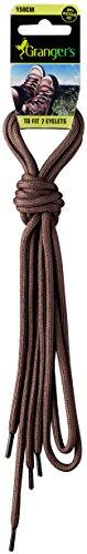 Grangers Lacets de Chaussures, Mixte, GRFLAC004, Marron, 150 cm