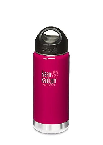 Klean Kanteen Wide Insulated m. ES Loop Cap 473ml wild raspberry