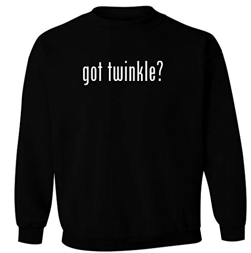 got twinkle? - Men's Pullover Crewneck Sweatshirt, Black, Small