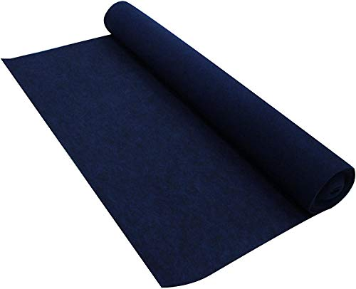 Absolute New CC20BL 20-Feet Long by 4 Feet Wide, 80 Square Feet Blue Carpet for Speaker Sub Box Carpet Home, Auto, RV, Boat, Marine, Truck, Car Trunk Liner